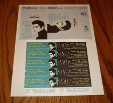 ELVIS INSERT & JUKE BOX STRIPS FROM REMASTERED BOX SET