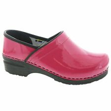 BJORK PRO ELSA Patent Leather Clogs