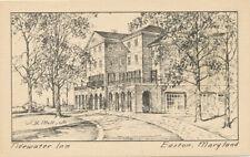 Easton MD * Tidewater Inn  1940s  J.B. Moll  Publisher