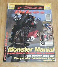 Fast Bikes Vol 3 No 26 May 1993 Trident GSXR400RR Duc M900 Tiger Blown Blade BMW