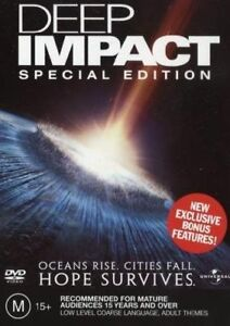 DEEP IMPACT DVD, NEW & SEALED, FREE POST