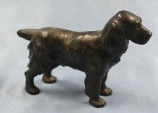 cocker setter bronze dog hund bronce