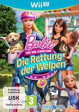 Nintendo Wii U WiiU Spiel * Barbie und ihre Schwestern: Die Rettung der Welpen *