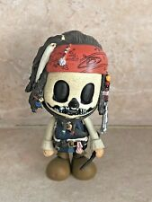"RARE HOT TOYS SDCC POTC SKELETON SKULL JACK SPARROW MINI COSBABY 3"" FIGURE"