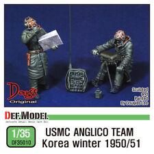 DEF. Model, DF35010, USMC anglico équipe de Corée hiver 1950/51 (2 chiffres), 1:35