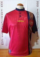 Seleccion España 1996 Camiseta Futbol Adidas Home Shirt Trikot Maglia