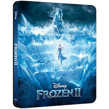 Frozen II (2) 📽️ Limited Edition UK Steelbook 3D + 2D Blu-ray REGION FREE  🆕