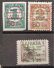 Sellos de España del período de la Guerra Civil correo aéreo