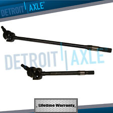 Both (2) New Driver Passenger U-Joint Axle Shafts for 2007-2017 Wrangler Dana 30