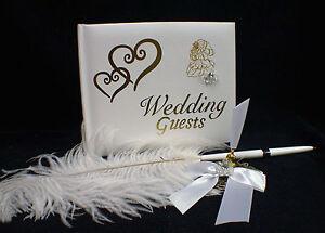 Beauty and the Beast Disney Wedding Cake Guest BOOK PEN & Holder Belle Princess