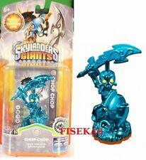 Skylanders Giants Blue Metallic Chop Chop Figure Variant Rare Toy Fair 2013 NEW
