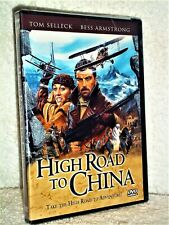 High Road to China (DVD, 2012) NEW Tom Selleck Bess Armstrong action adventure
