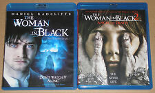 Horror Blu-ray Lot - The Woman in Black 1 & 2 Angel of Death (Used)