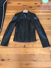 Saray Leather jacket Size 8 RRP $650