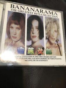 Bananarama THE GREATEST HITS COLLECTION LONDON 1988 CD Venus Cruel Summer