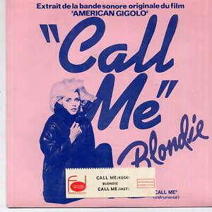 BLONDIE -  Call me - 7'' (45 tours) - Juke box strip -  (J)