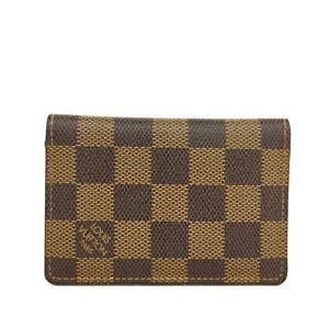 Louis Vuitton Damier Organizer De Poche Card Case /90626
