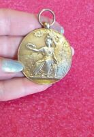 1896 Châteauroux French Masonic Art Nouveau Splendid Silver medal