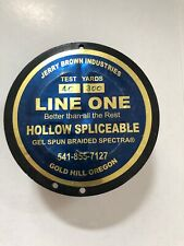 130lb x100 yard Jerry Brown Line One Hollow Spectra with 1 end loop