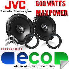 Citroen C1 2005-2014 JVC 16cm 6.5 Inch 600 Watts 2 Way Front Door Car Speakers