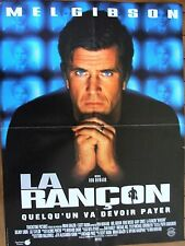 AFFICHE - LA RANCON MEL GIBSON RON HOWARD