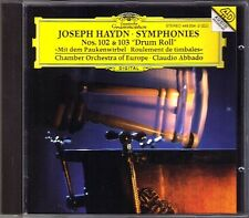 Claudio ABBADO: HAYDN Symphony Ni.102 103 Drum Roll Paukenwirbel Sinfonien DG CD