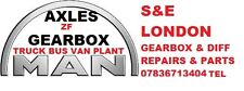 MAN GEARBOX & DIFF REPAIRS AND D.I.Y PARTS LONDON