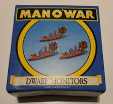 Games Workshop 1993 hombre o'war enano monitores