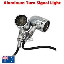 2x Chrome Smoke lens Turn Signal Blinkers Light Harley Ultra Tour Glide Classic