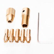 8-tlg 0,5-3mm Bohrfutter Spannzangen Satz Schnellspannfutter für Mini Werkzeuge