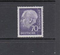 BRD Mi-Nr. 263 xv R - Rollenmarke mit Nummer 0250 ** postfrisch