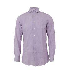 Camicia Extra Slim Uomo CAMICISSIMA 021363 Rosso Misura 39 Fantasia A Righe