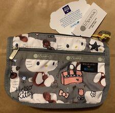 NWT Hello Kitty Lesportsac 45th Anniversary Travel Cosmetic Bag