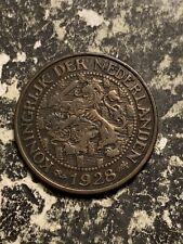 1928 Netherlands 1 Cent Lot#Q7912