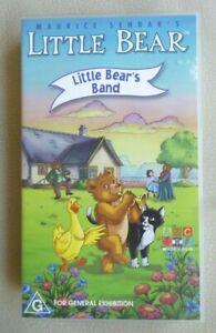 LITTLE BEAR Little Bear's Band VHS PAL 2000 Maurice Sendak ABC for KIDS VGC