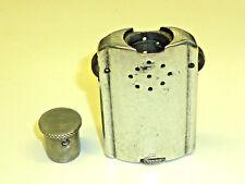 Vintage aluminium Lighter-Double Barrel-Massif Aluminium-briquet