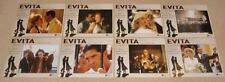 "MADONNA Evita 8 x GERMAN PROMO CINEMA POSTERS 11"" x 14"" / 28 x 35.5 cm MINT!!"