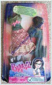 BRATZ MGA DOLL CLOTHING FASHION PACK : MIX N MATCH : 6 PIECES (b) : NEW *RARE*
