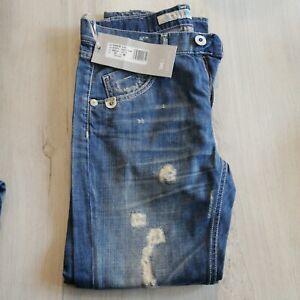 Jeans donna Take Two pantalone ragazza strappato nuovo taglia 25 e 26 denim