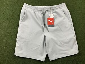 Puma EGW Walker Athletic Golf Shorts High Rise Gray SZ Medium ( 599271 03 ) NWT!