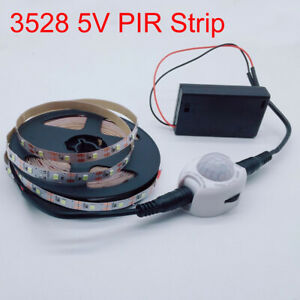 1M 2M 3M Wireless Motion sensor PIR USB LED Strip 5V For TV Backlight lighting