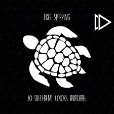 Turtle Vinyl Car Laptop Decal Sticker - Nature Sea Animal Cute Salt Life Ocean