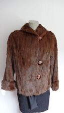 Women's Sz 6/8 Squirrel Fur Jacket Bolero Superb CLEARANCE SALE 💰