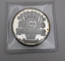 RARE Chicago Cubs 1990 All-Star Game .999 Silver Medal 1 oz Round MLB Limited