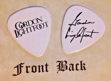 LIGHTFOOT - GORDON LIGHTFOOT band logo signature guitar pick -  (Q)