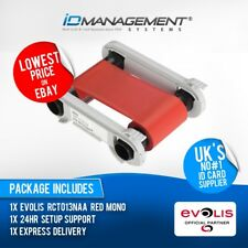 Evolis Red Ribbon for Primacy/Zenius Printers • Free UK Delivery