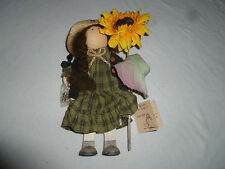 NEW W TAG LIZZIE HIGH DOLL MARISA VALENTINE W SUNFLOWER VINTAGE 1994 NWT