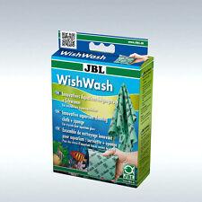 JBL WishWash Innovatives Reinigungstuch + Schwamm für Aquarien und Terrarien