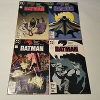 Batman 404 405 406 407  (Miller) (Year One Parts 1-4, Full Set) - Lot  - VF