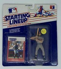 Ozzie Virgil Atlanta Braves Kenner 1988 Starting Lineup Figure